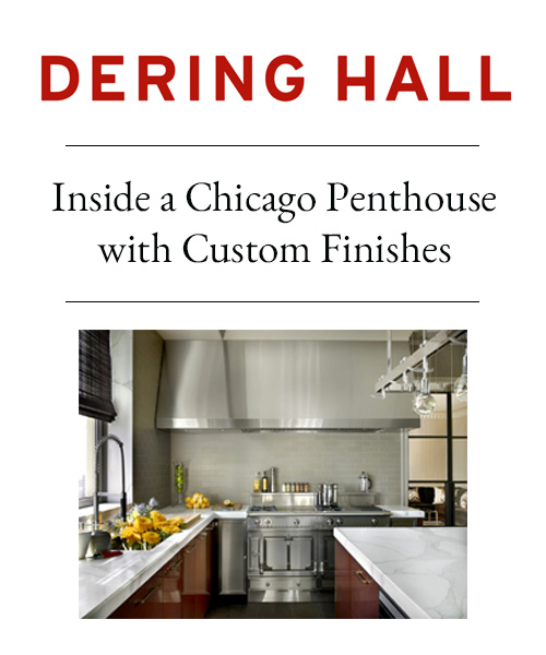 Dering Hall - Inside a Chicago Penthouse with Custom Finishes